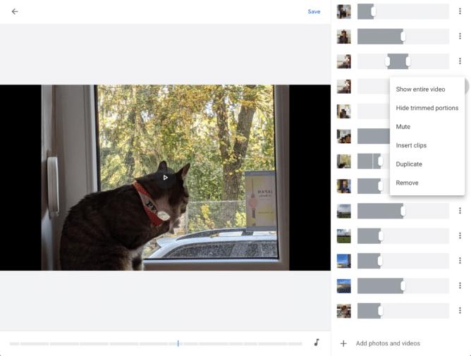 Google Fotos - Editor