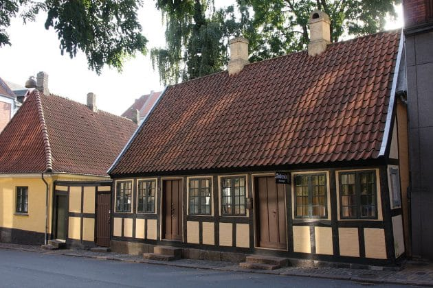 H.C. Andersen's Childhood Home Odense