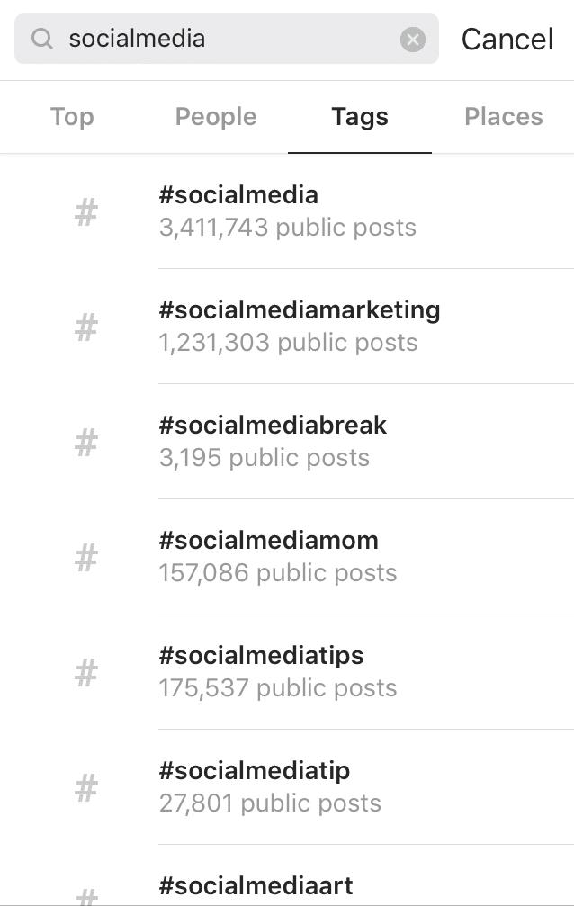Hashtag no Instagram - como ganhar seguidores no Instagram