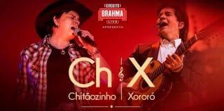 hoje tem live do Chitãozinho e Xororó