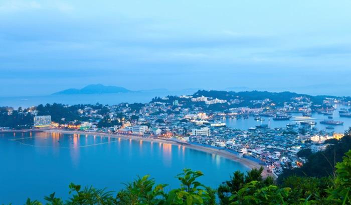 Ilha Cheung Chau em Hong Kong