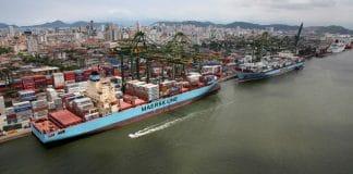 Importância dos portos brasileiros para balança comercial e a economia