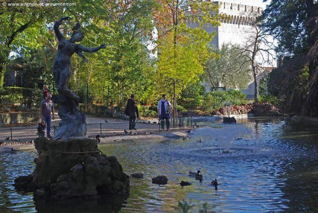 Jardin Des Doms em Avignon