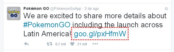 Lançamento Pokémon Go no Brasil