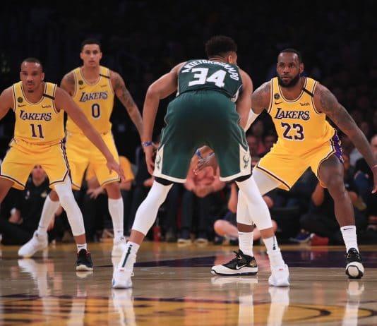 Lebron James comanda Lakers em vitória contra Bucks