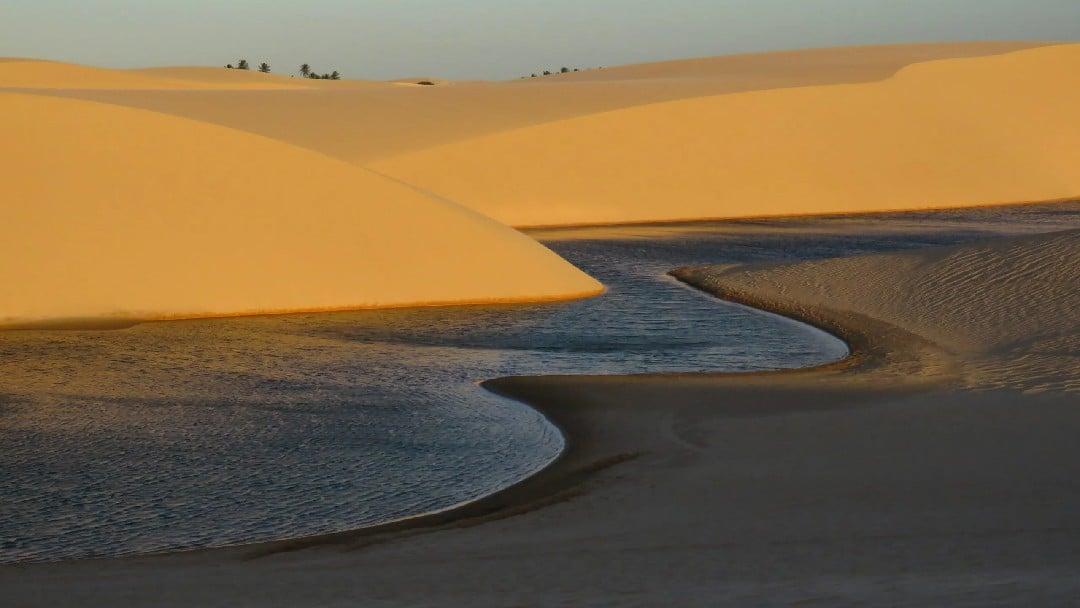 Lençóis baleienses, Itapipoca - Ceará