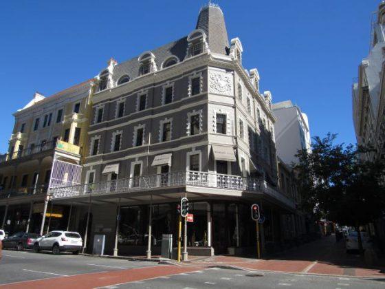 Long Street da Cidade do Cabo