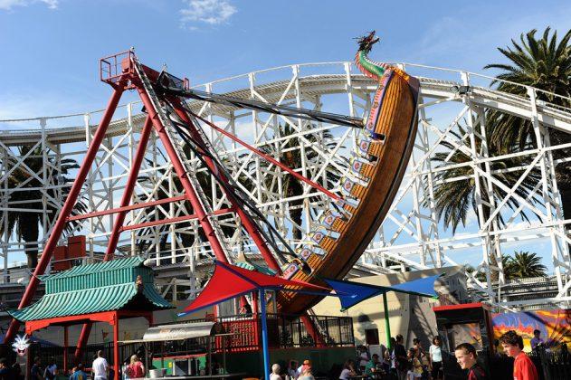 Luna Park em Melbourne