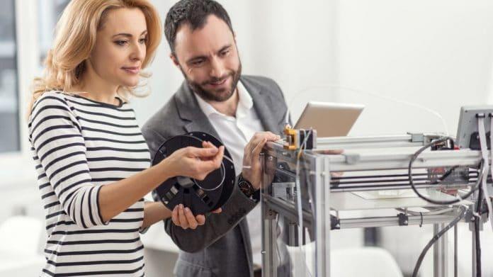 Manutenção de impressora 3D