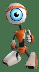 Mascote Robô BBB