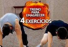 Treino para emagrecer: 4 exercícios que você pode fazer em casa