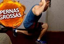 pernas grossas com 3 simples exercícios
