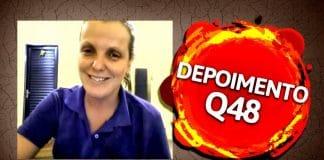 Q48 Depoimento: Aluna fica muito feliz com os resultados