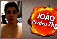 Q48 Depoimento - João Vitor perdeu 7kg e 7cm de cintura