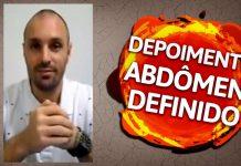 Definir Abdômen - Depoimento Anderson