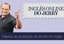 placas de trânsito em inglês - inglês do jerry
