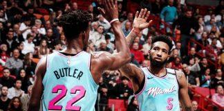 Miami Heat vence Dallas no aniversário de Doncic