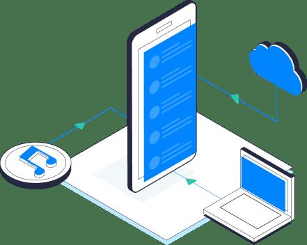 Restaurar os dados com MobileTrans