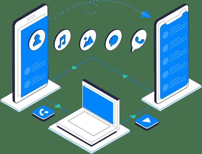 MobileTrans - Transferir os dados de celular