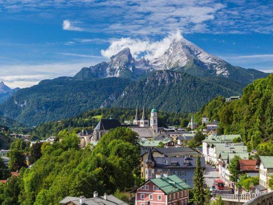 Montanhas de Salzburgo