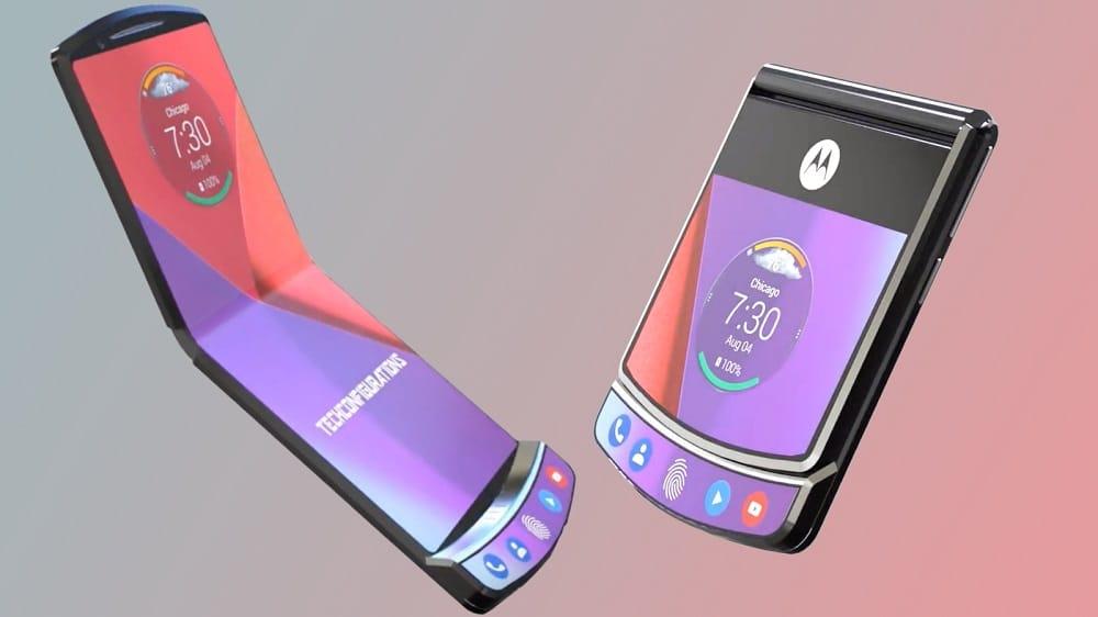 Motorola Razr V4 - smartphone dobrável