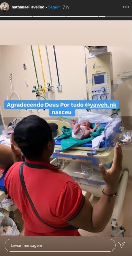 Nacimento filho Rízia Cerqueira