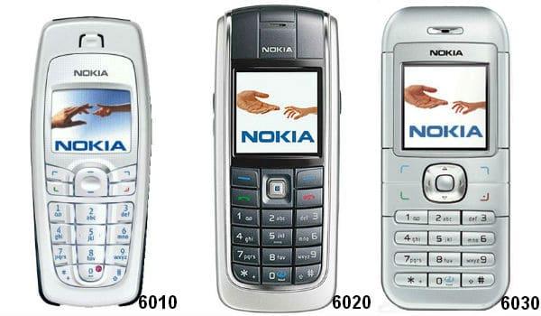nokia 6010-6020-6030