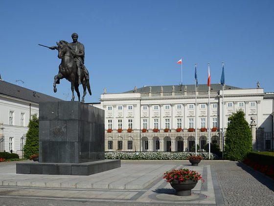 Pałac Prezydencki de Varsóvia
