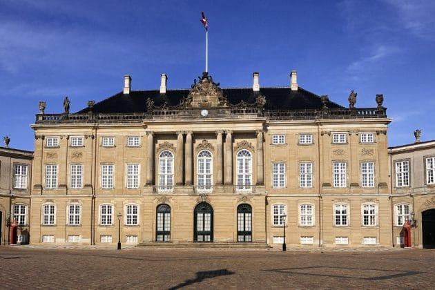 Palácio De Amalienborg de copenhague
