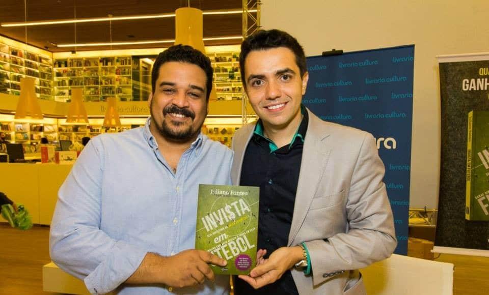 Palestra e lançamento do livro INVISTA EM FUTEBOL
