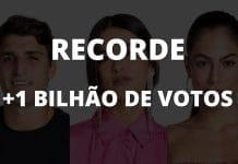 BBB20 - Paredão ultrapassa 1 bilhão de votos