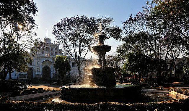 Parque Central de Antígua