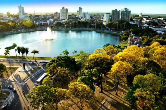 Parque Solon de Lucena (lagoa) - João Pessoa-PB