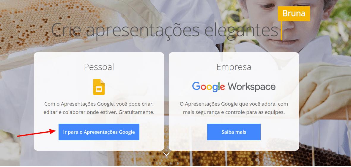 Google slides empresa