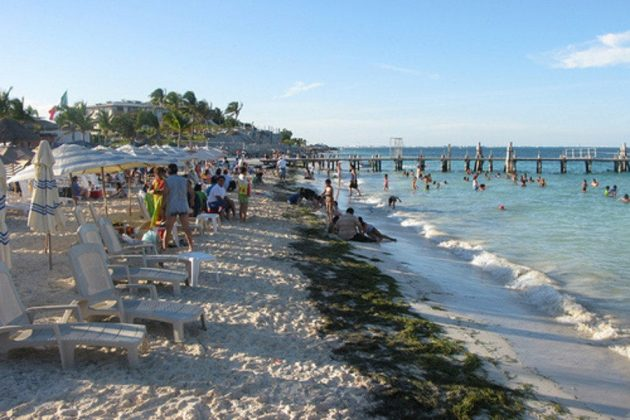 Playa Tortuga de Cancún