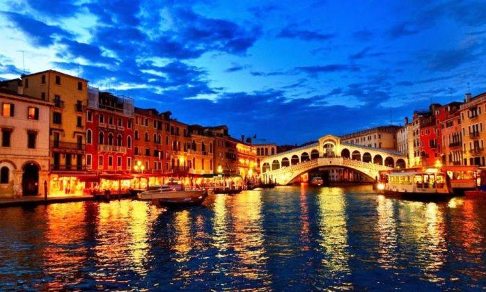 Ponte di Rialto em Veneza
