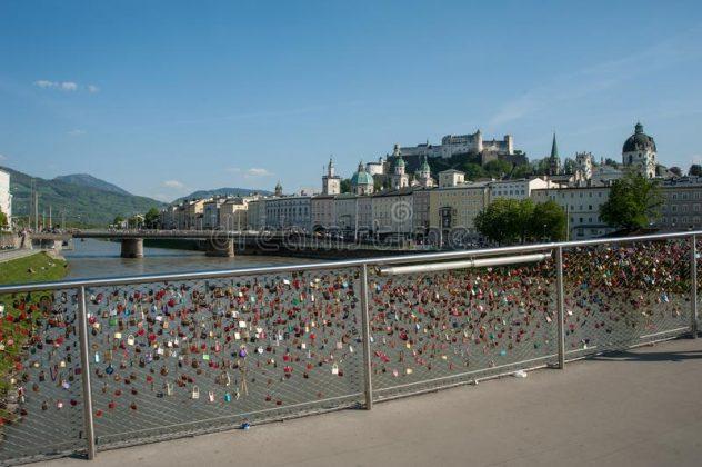 Ponte dos Cadeados de Salzburgo