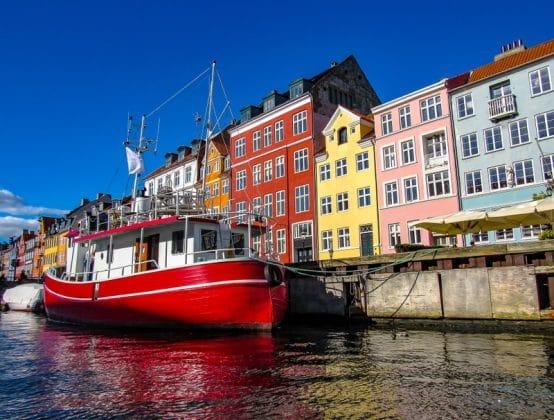 Porto de Nyhavn Copenhague – Dinamarca