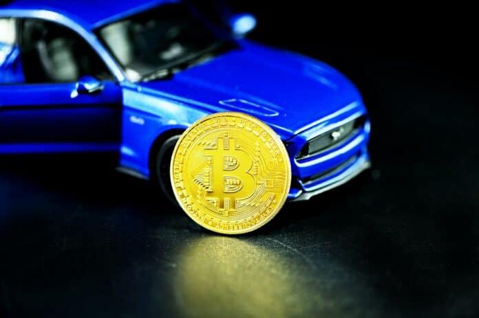 comprar um carro com criptomoedas