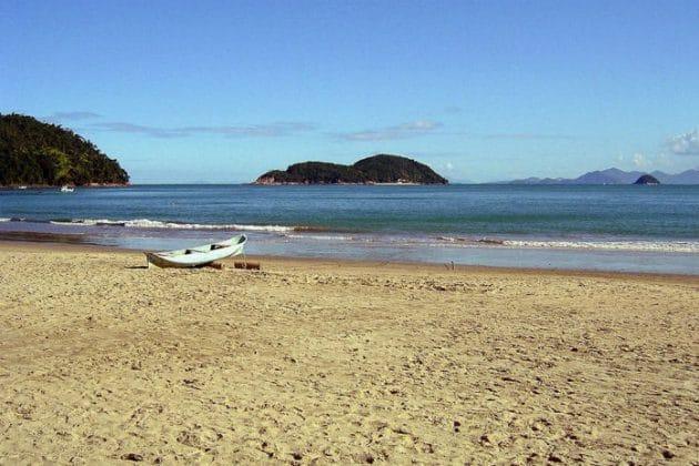 Praia Almada em Ubatuba