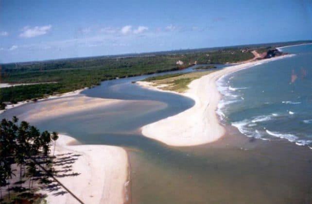 Praia da Barra de Gramame - João Pessoa-PB