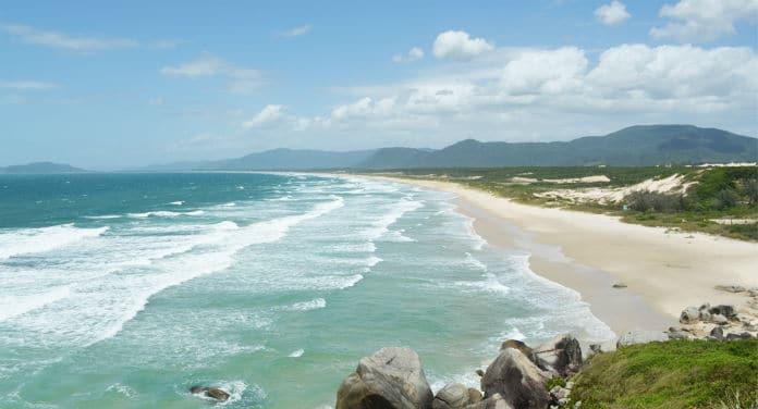 Praia de Moçambique - Florianópolis-SC