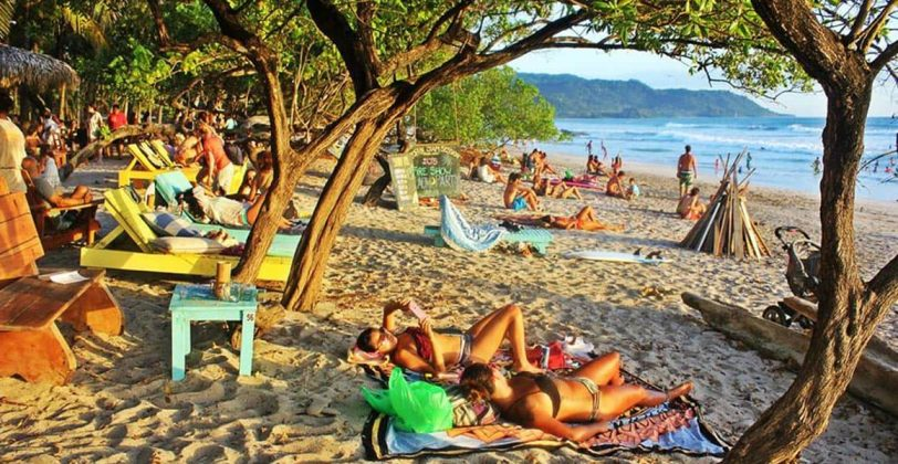 Praias em Costa Rica