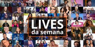 Principais lives da semana - Sepultura, Emicida, Zezé Di Camargo e Luciano, Skank e mais
