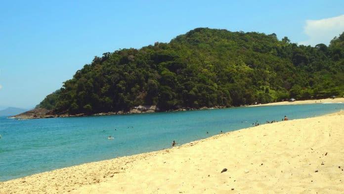 Praia Prumirim em Ubatuba