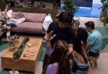 Pyong Lee faz hipnose com brothers