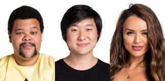Rafa, Babu e Pyong formam o oitavo paredão do BBB20
