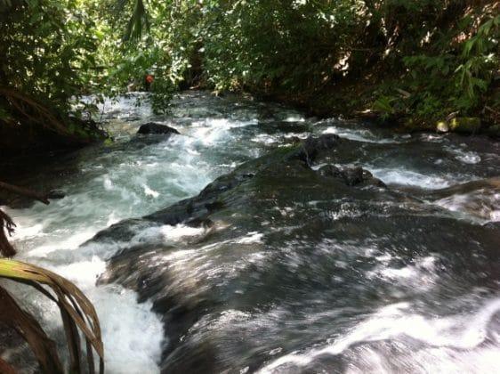 Rio Chollin de La Fortuna de San Carlos