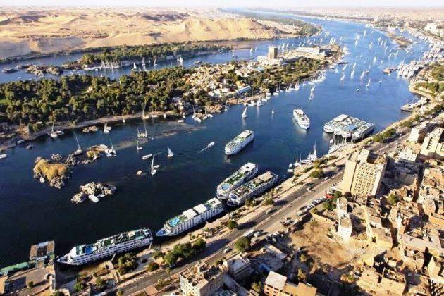 Rio Nilo no Cairo