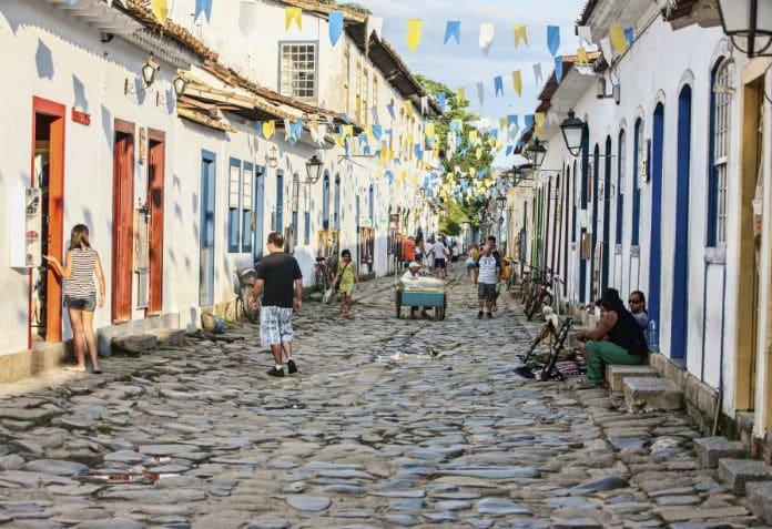 Centro histórico - Paraty-RJ